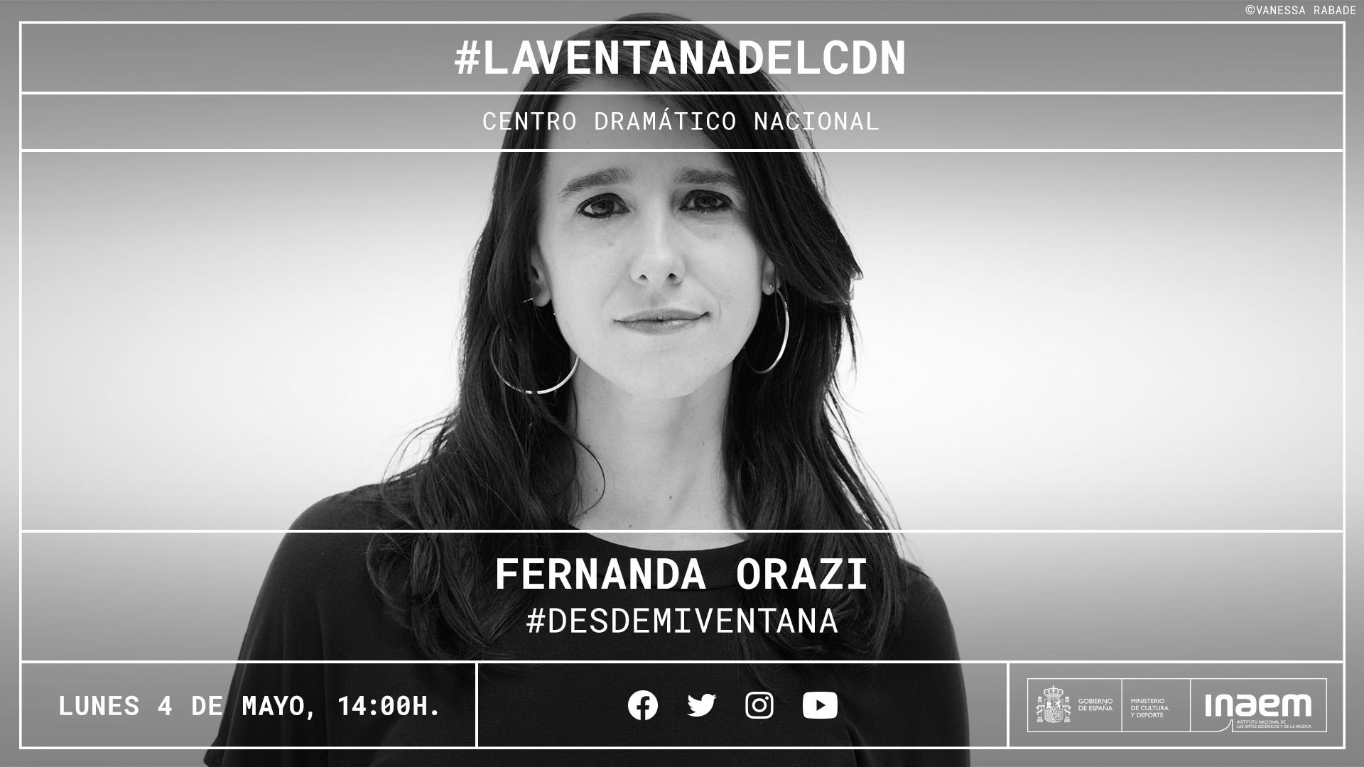 El balcón como ¿límite? entre realidades: Fernanda Orazi comparte sus reflexiones del confinamiento