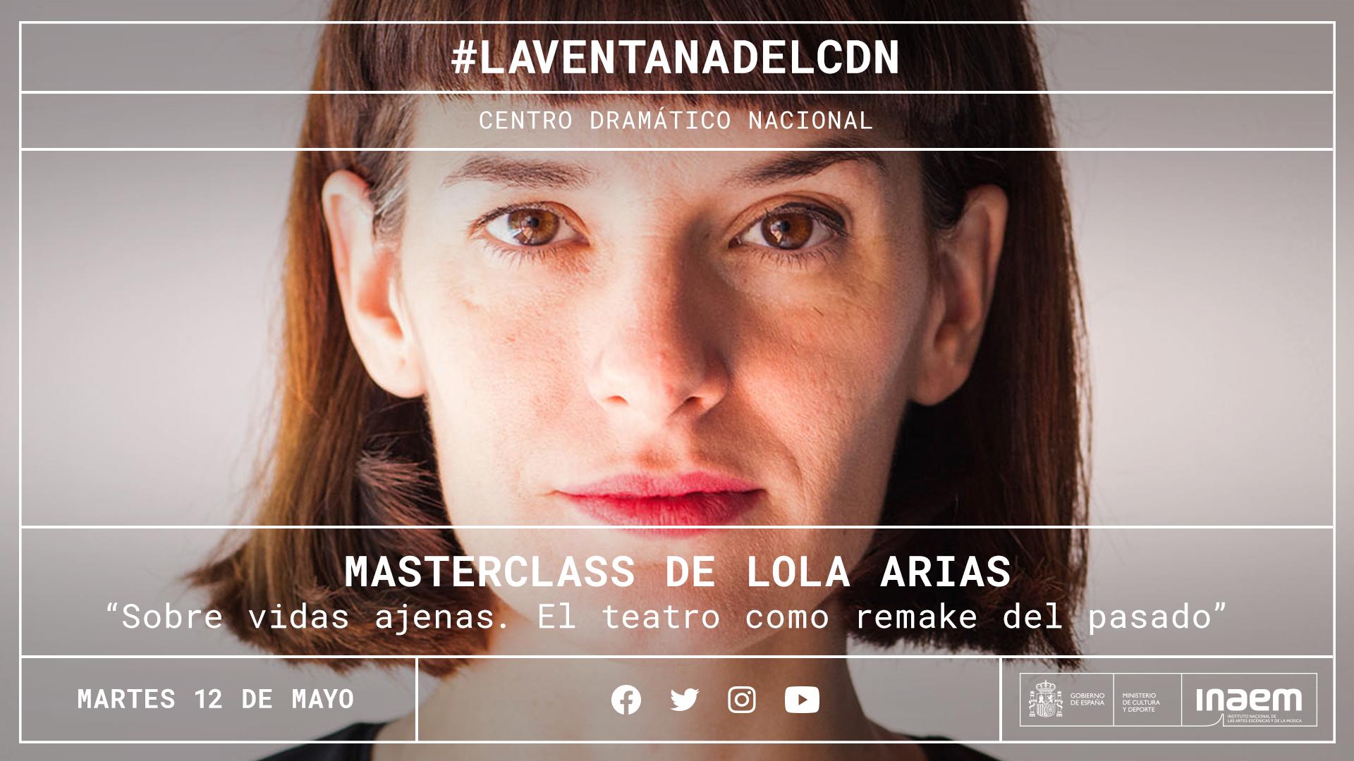 Lola Arias imparte en directo su masterclass «Sobre vidas. El teatro como remake del pasado»