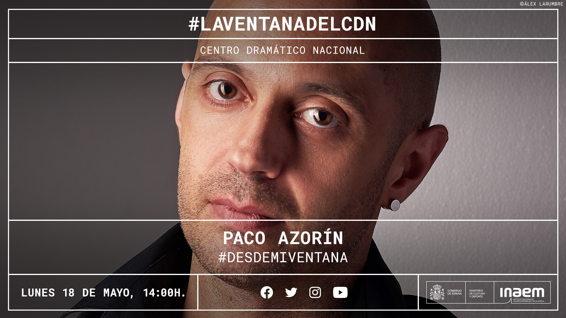 Paco Azorín nos relata en un podcast lo que ve desde su ventana