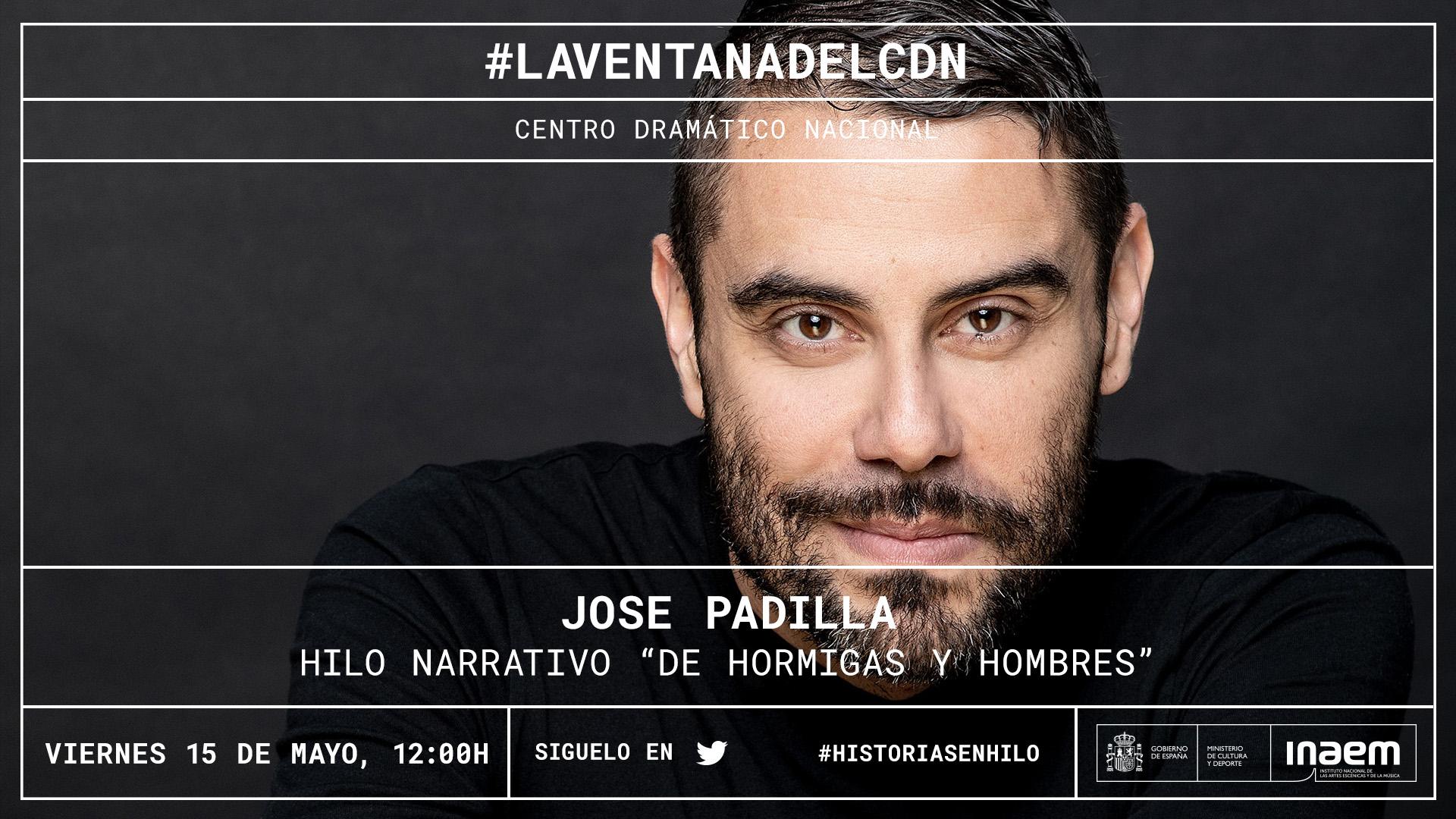 Jose Padilla teje en directo el hilo de una historia en la que podrás participar a través de Twitter