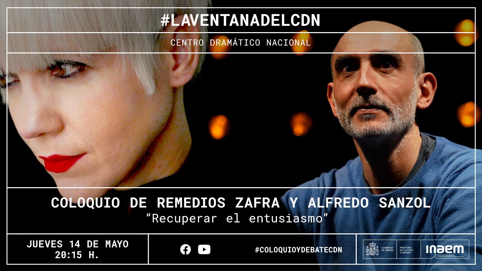 La ensayista Remedios Zafra dialoga con Alfredo Sanzol sobre el entusiasmo en la creación