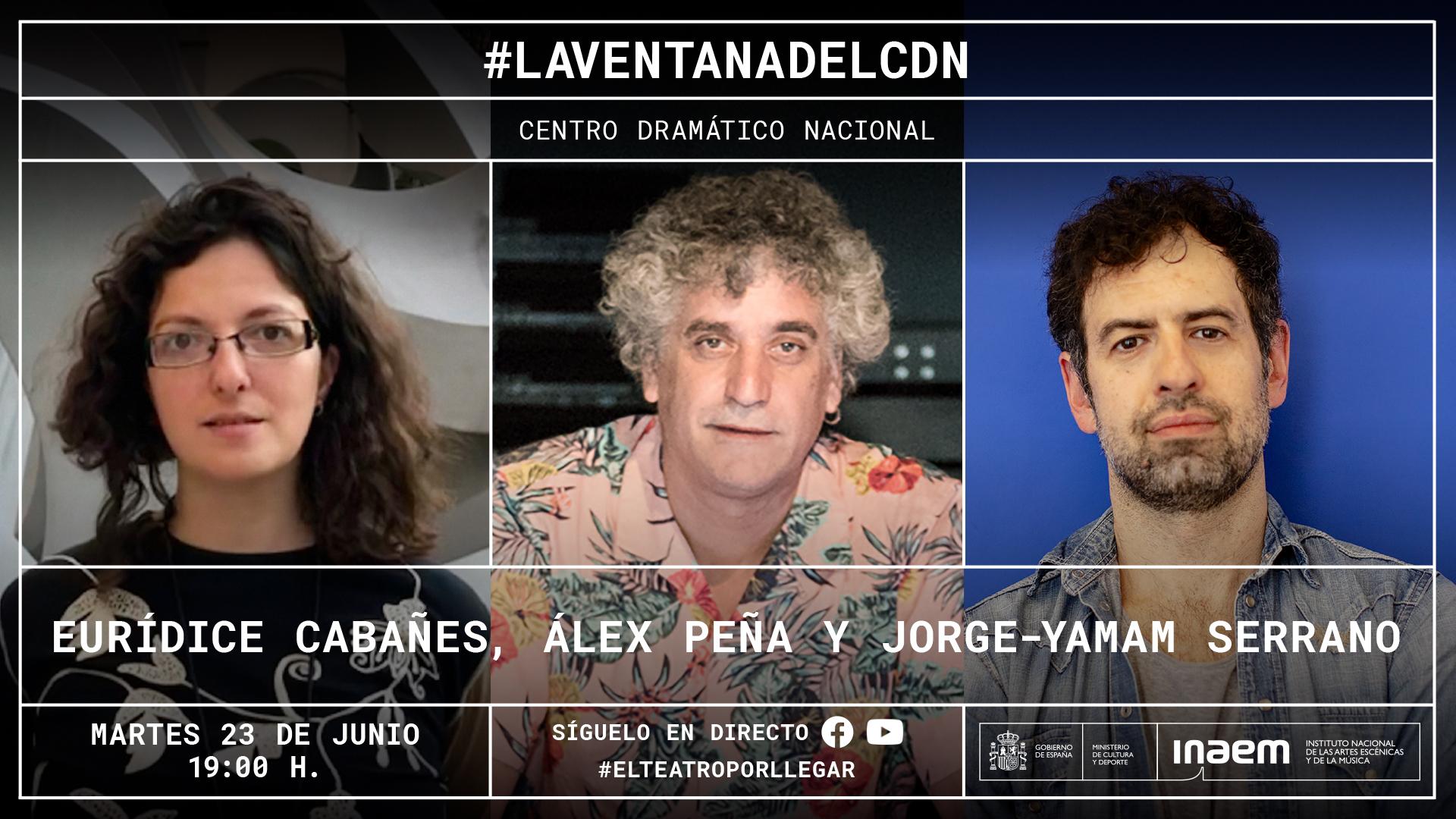 Eurídice Cabañes, Álex Peña y Jorge-Yamam Serrano dialogan sobre la relación entre la cultura y la tecnología