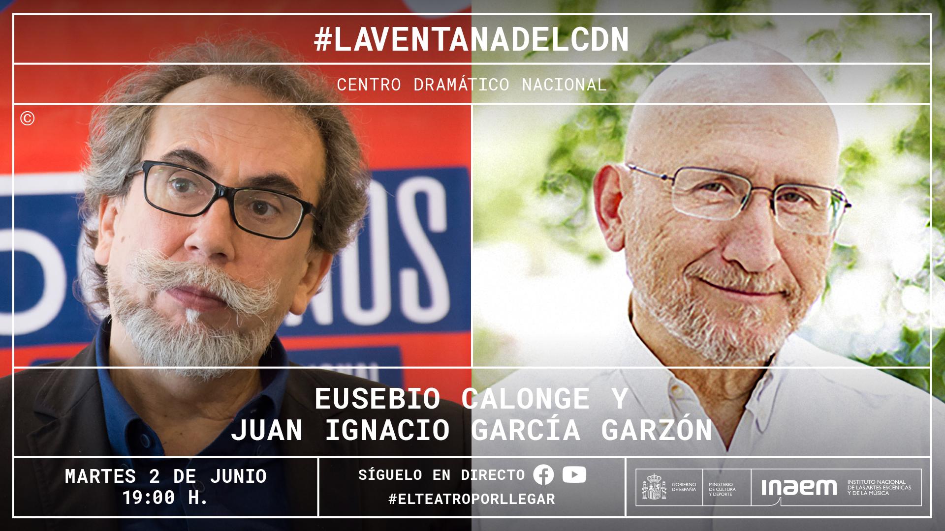 Juan Ignacio García Garzón entrevista en directo a Eusebio Calonge