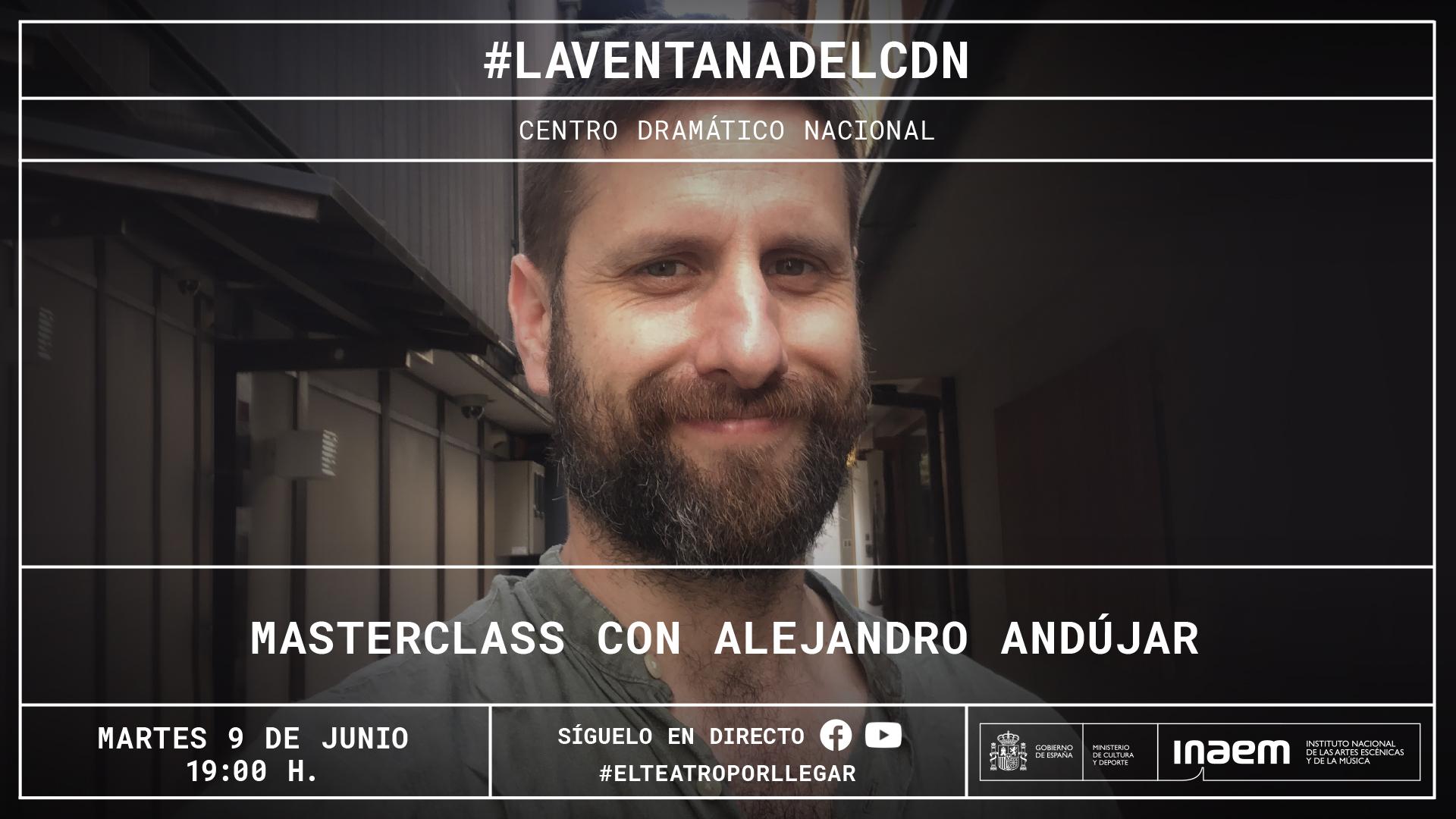 Alejandro Andújar impartirá una masterclass sobre su trabajo como diseñador de vestuario y escenografía