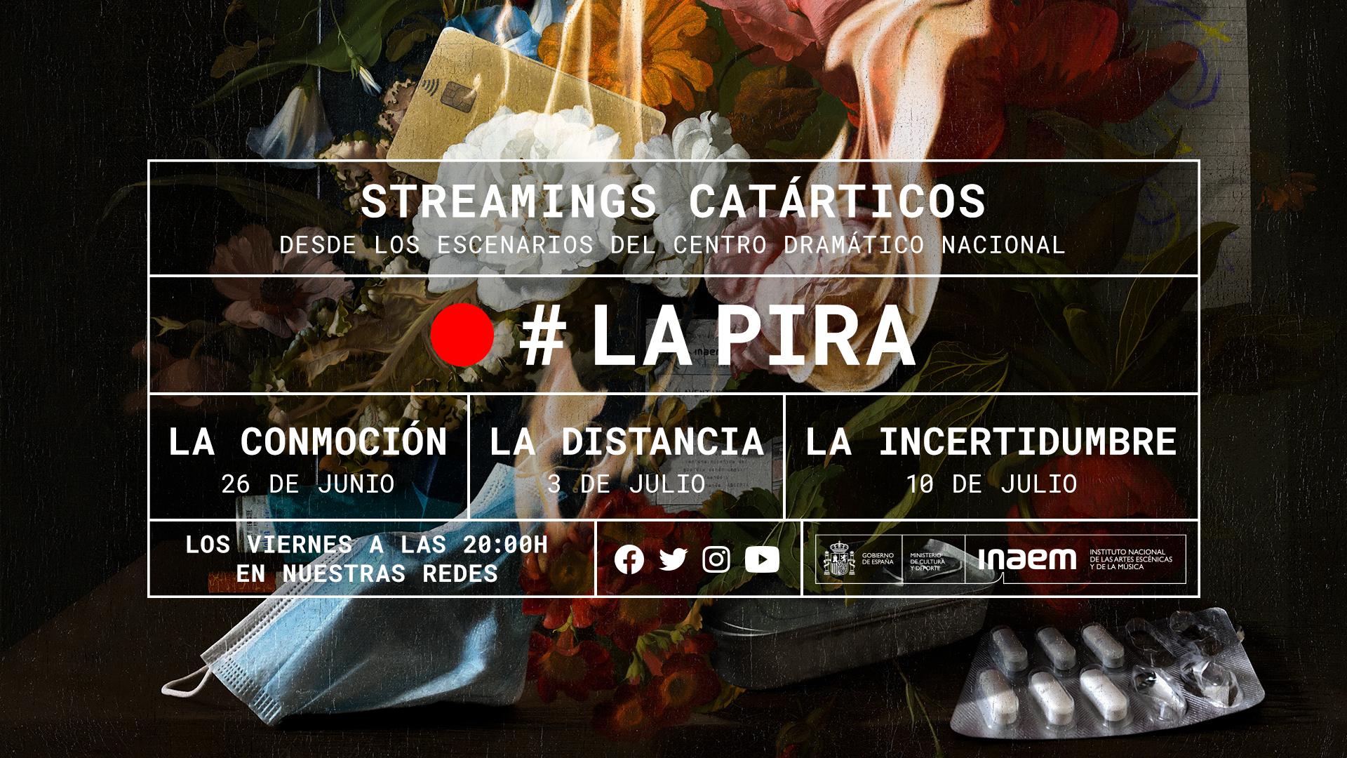 El Centro Dramático Nacional vuelve a los escenarios con la trilogía «LA PIRA»